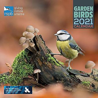 Otter House 2021 Rspb Wall Calendar - Garden Birds