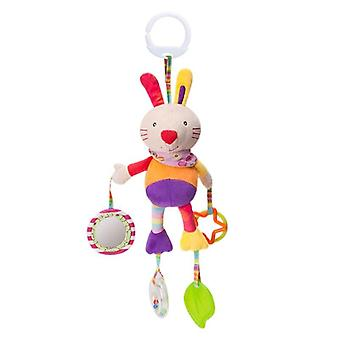 Animal Doll Stuffed Bed Hanging Rattles Safe Crib Revolves Around Stroller