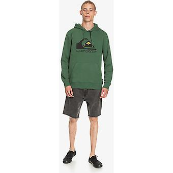 Quiksilver Square Me Up Pullover Hoody in Greener Pastures