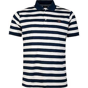Paul And Shark Striped Polo Shirt