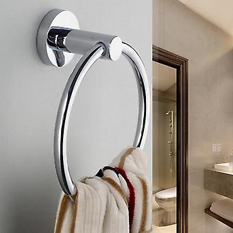 Stainless Steel Round Style Wall-mounted, Towel Ring Holder