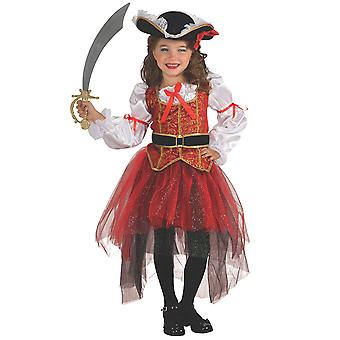Princess Of The Seas Pirate Carribbean Treasure Hunter Book Week Girls Costume