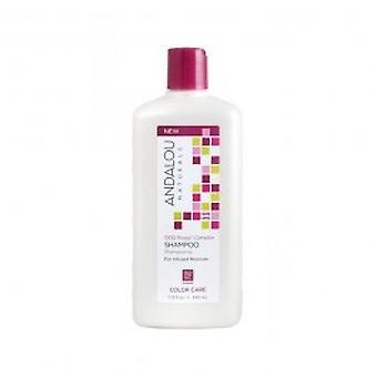 Andalou - 1000 Roses väri huolellisesti Shampoo 340ml