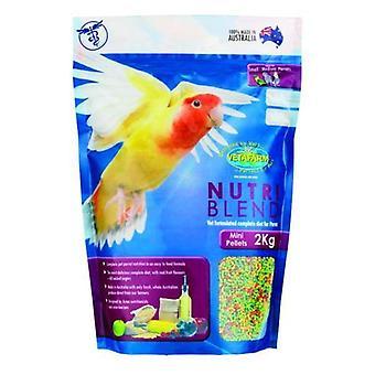 Nutriblend Mini pelletit 2kg Vetafarm