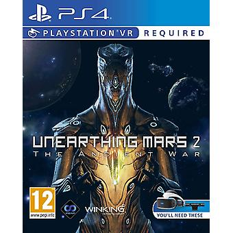 Unearthing Mars2 The Ancient War PSVR PS4 Game