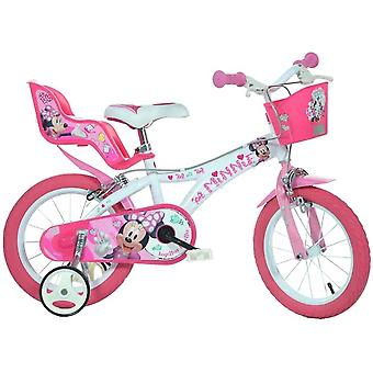 Dino Bikes Minnie Mouse Licensed 16 Inch Bicycle