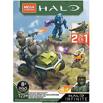 Mongoose Hunt Recon Getaway (Halo Infinite) Mega Construx Playset