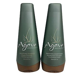 Agave Glätte Shampoo & Conditioner Set 8,5 OZ jeder
