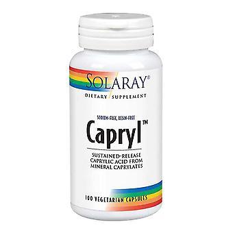 Solaray Capryl, 100 Caps
