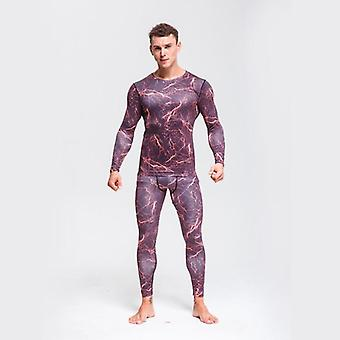 Underwear Set, Quick-drying Tights Warm Base Layer -compression Clothing
