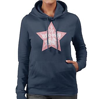 Neugierige George 41 Star Frauen's Kapuzen Sweatshirt
