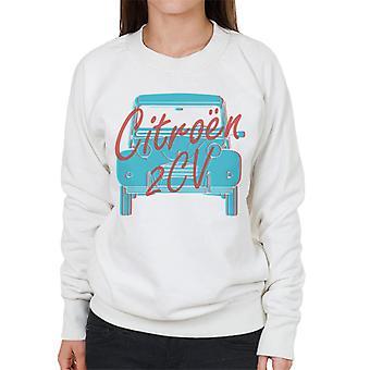 Citro?n 2CV Graphic Style Women's Sweatshirt