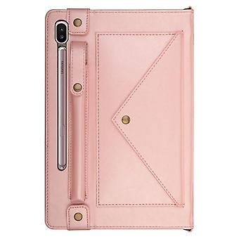 Leather Anti-fall case for Apple iPad 9.7 2017 / 2018 Rose gold