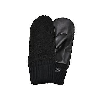 Urban Classics Unisex Gloves Sherpa Imitation Leather