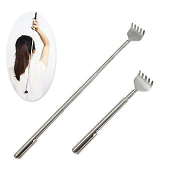 Extendable Telescopic Back Scraper Stainless Steel - Backbone Pocket Scratch