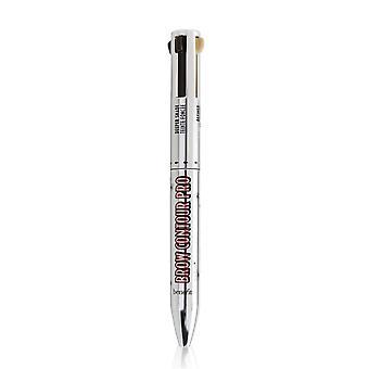 الحاجب كفاف الموالية 4 في 1 تعريف & تسليط الضوء على قلم رصاص الحاجب # المتوسطة (البني) 253637 4x0.1g/0.003oz