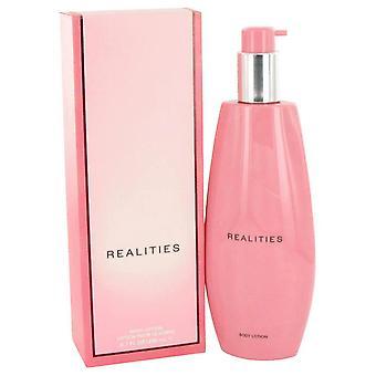 Realities (new) body lotion by liz claiborne 200 ml