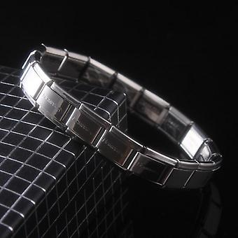 Unisex Fashion Elastic Stainless Steel Charming Bracelet