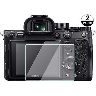 A7iii screen protector compatible for sony a7iii a7m2 a7r iv a7r iii a7rii / rx100 vii rx100vi rx100