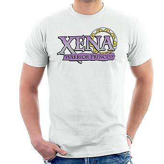 Xena Warrior Princess Purple Gradient Logo Men's T-Shirt