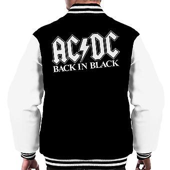 AC/DC Back In Black Men's Varsity Jacket