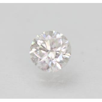 Sertifioitu 0,63 karat E VS2 pyöreä brilliant parannettu luonnollinen löysä timantti 5,28mm