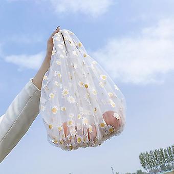 Large Cotton Totes Shopping Bags Foldable Mesh Net String Reusable, Fruit