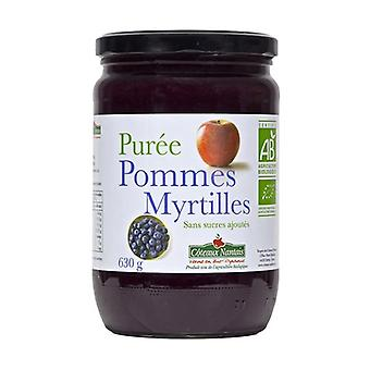 Blueberry Apple puree without sugar 630 g