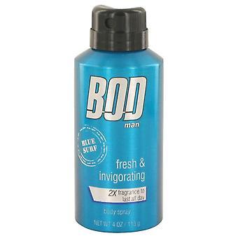 BOD hombre azul Surf cuerpo spray por Parfums De Coeur 4 oz spray cuerpo