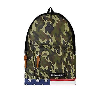 D.Franklin Unisex Backpack Army