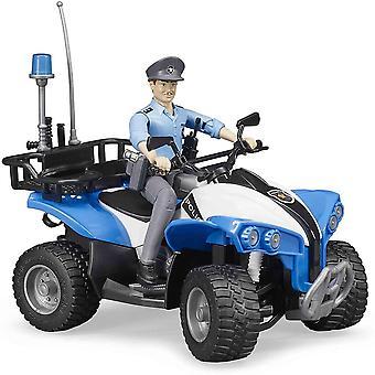 Bruder - Poliisin mönkijä poliisin kanssa 1:16 63010