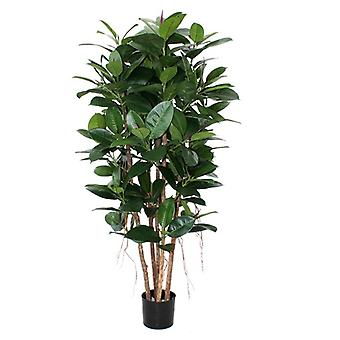 Colonna di Philodendron artificiale 155cm