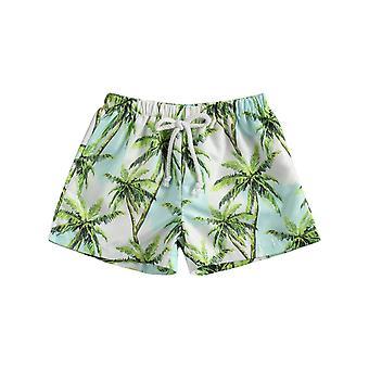 Dětské plavky Camouflage / palma Print Board Šortky Plážové plavky