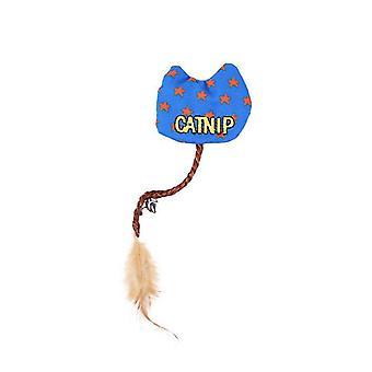 Canvas Catnip Feather Hauska Kissa LeluSolmut, Kulumista kestävä ärtyvä kissa tarvikkeet