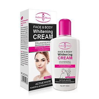 Collagen Milk, Bleaching Face, Body Cream - Skin Whitening Moisturizing Cream