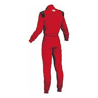 Racing jumpsuit OMP Summer-K Red