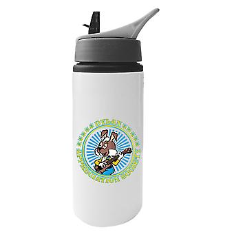 The Magic Roundabout Dylan Appreciation Society Aluminium Water Bottle With Straw