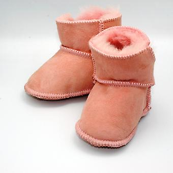 SKEANIE Baby & Toddler Genuine Leather Australian UGG Boots in Pink