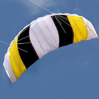Mix Farge Stunt Fallskjerm Myk Parafoil Seil Surfing Kite
