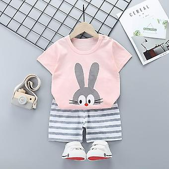 Baby Summer Clothes, Clothing Top+shorts Suit Set
