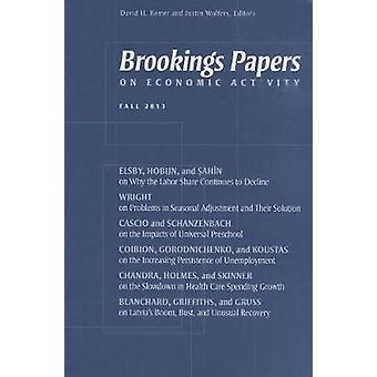 Brookings Papers on Economic Activity by Edited by David H Romer & Edited by Justin Wolfers