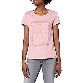 MUSTANG Alexia C Camiseta con estampado, Viola (Lilas 8148), X-Small Woman