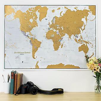 Scratch the World® - Tyska Språket (Silk Art Paper)