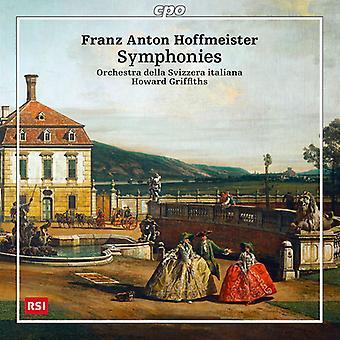 Hoffmeister / Orchestra Della Svizzera Italiana - symfonieën & Ouverture [CD] USA import