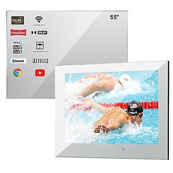 smart ledet tv vanntett for bad badstue rom ip66 veggmontert storskjerm