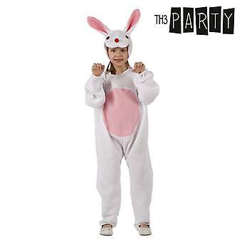 Fantasia para crianças coelho branco