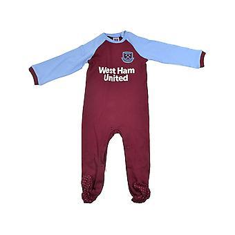 West Ham Sleep Oblek 9-12 Mesiacov
