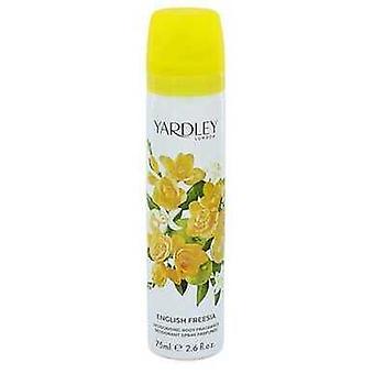 English Freesia By Yardley London Body Spray 2.6 Oz (women)