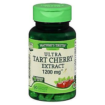 Nature's Truth Nature'S Truth Ultra Tart Cherry Quick Release Capsules, 1200 mg, 90 Caps