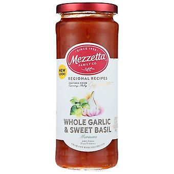 Mezzetta Sauce Mrnra Gar Swt Basil, Case of 6 X 16.25 Oz
